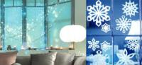 Christmas lights for the windows or paper snowflakes?