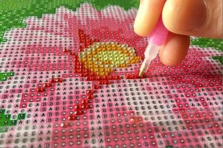 Have you ever done diamond painting?