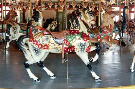 The carousel horses come in different styles, which (if any) of these are you familiar with?