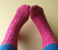 How much would you pay for a pair of hand knit woolen socks?