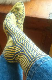 Have you ever worn hand knit socks?