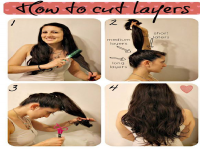 Have you ever cut your hair using a ponytail holder?