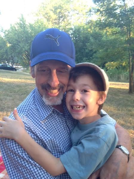 Recently as I was talking to my 8 year old I found out that he doesn't remember his father before cancer - my husband was first diagnosed when our youngest son was 4. Do you have friends or family that were sick for so long that you don't remember how they were before the illness?