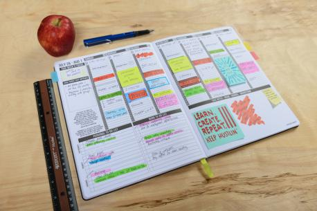 Decorating a planner has become much like scrapbooking with people decorating their planners with stickers and washi tape. Have you heard of this trend before?