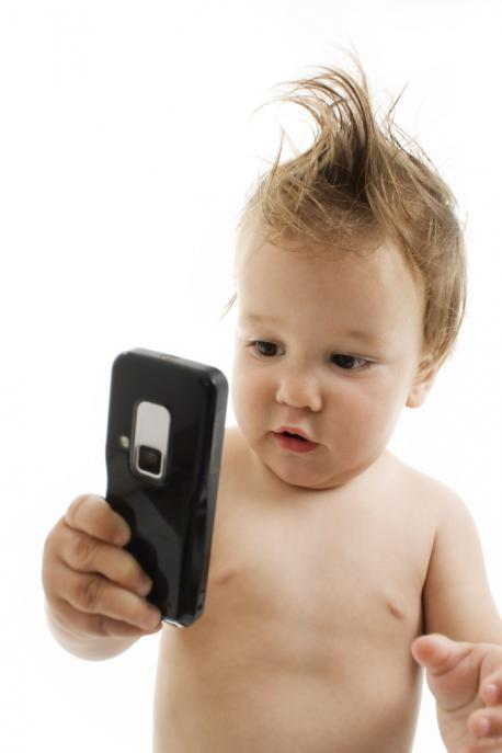 Did you create a social media account for any of your young children?