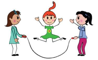 Did you ever use skipping rope/jump rope in school?