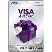 $25 Visa Gift Card (Emailed)