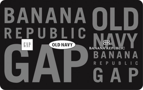 $25 Old Navy/Gap/Banana Republic Gift Card